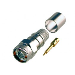 0-RFN1006-9L2  Type-N Male Crimp Connector, Cable Group L2, RFI