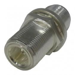 0-RFN1023  IN Series Adapter, N Female to N Female bulkhead, RFI