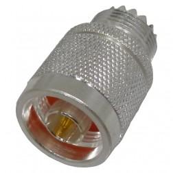 0-RFN1035-1  Between Series Adapter, Type-N Male to UHF Female(SO239), RFI
