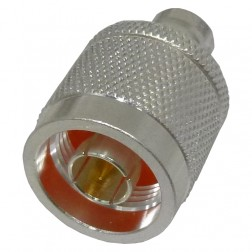 0-RFN1037-1  Between Series Adapter, Type-N Male to BNC Female, RFI