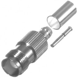 RFT1217-X TNC Female Crimp Connector, RF Industries