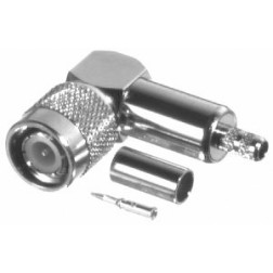 RFT1218-C1 RF Industries TNC Right Angle Male Crimp Connector