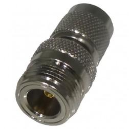 RFT1234 Between Series Adapter, TNC Male to Type-N Female, RF Industries