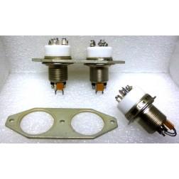 RJ1A/26S-BRACKET  Aluminum bracket for mounting 2 RJ1A relays