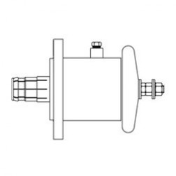 "RLA150-80 Between Series Adapter, 1-5/8"" EIA to End Terminal, ERI"