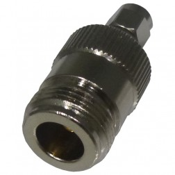 RP3452 Reverse Polarity Between Series Adapter, RP SMA Male to Type-N Female, RF Industries