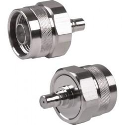 RQA5478  Between Series Adapter, Type-N Male to QMA Female, RF Industries