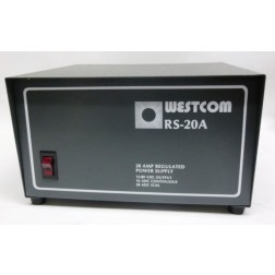 RS20A-220  DC Regulated Power supply, 220 volt, Westcom