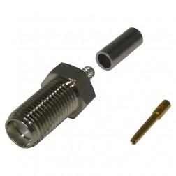 RSA3050-B SMA Female Crimp Connector, Cable Group: B , RF Industries