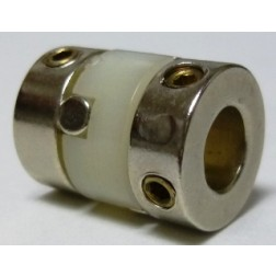 "SC6 Flexible Shaft Coupler, 1/4""  3010-00-0807-6452"