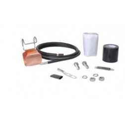 "SGL7-15B4  SureGround® Grounding Kit for 1-5/8"" corrugated coaxial cable"