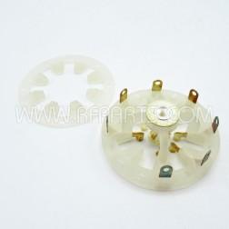 SK611 E.F. Johnson Socket for 4CX250B (NOS)