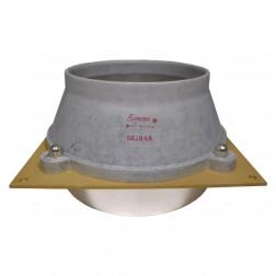 SK184A  Tube socket & Chimney Combination for 8295A / PL172, Eimac