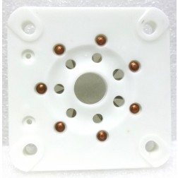 SK7 Tube socket, Ceramic,  7 pin for 813 tube
