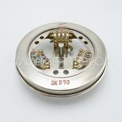 SK890 Eimac Tube Socket (NOS)