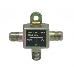 SPLITTER-1 Splitter, TV 2 way, 5-900mhz