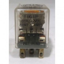 T-DG-12P Relay, DPDT Terminal, for KLM amps, Teledyne