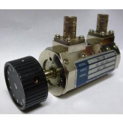 TA50BNC  Attenuator, Rotary, 0-10dB / 1dB steps, DC-2 GHz, BNC Female, Texscan (Clean Used)