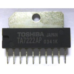 TA7222AP Pll/audio IC, Toshiba