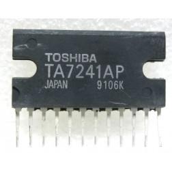 TA7241  5.8M DUAL AUDIO POWER AMPLIFIER 19W BTL, Toshiba