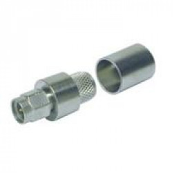 TC400SM-X  SMA Male Crimp Connector, Cable Group: I, TIMES