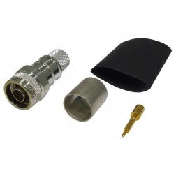 TC600NMH-X  Type-N Male Crimp Connector, LMR600, TIMES