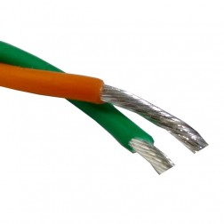 TEF20TP PTFE Covered Wire, Twisted pair, 20ga