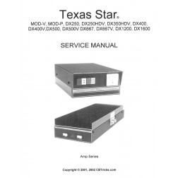 TEXAS-1 Service Manual, Texas Star