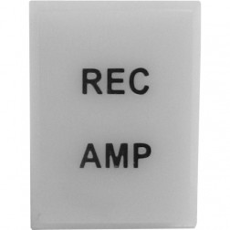 TEXLENSWH - Replacement Lens Cover (WHITE - Rec Amp), Texas Star