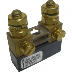 "TMSB200-50 Meter Shunt, 200amp, 50mv, Compact 0.5""x1.5""x1.6"""