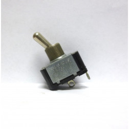 TS2  Toggle Switch, SPST, Metal 10a 250vac, Palomar