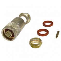 UG21E/U  Type-N Male Clamp Connector, Cable Group E, Kings
