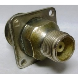 UG259A/U Between Series Adapter, LC Female to HN Female Chassis, 4 hole flange (clean used)