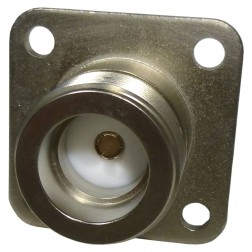 UG352A/U LC Female 4 Hole Chassis Mount Connector (Clean Used)