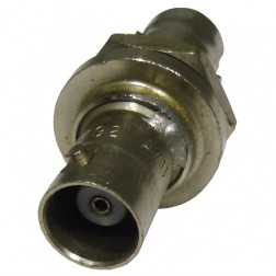 UG492A/U BNC In Series Adapter, Female to Female Bulkhead, Amphenol
