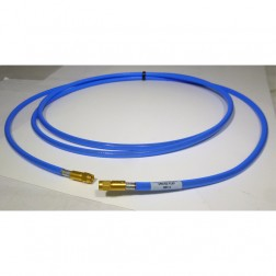 EZ401SMSM-8  8 Foot Cable Assembly with EZ-FLEX401 Coax Cable and SMA male Connectors on both sides (18GHz)