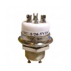 VHC1-26.5V  Vacuum Relay, SPDT, 26.5vdc (RJ1A - HC1)