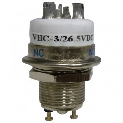 VHC3-26.5V  Vacuum Relay, SPDT, 26.5vdc