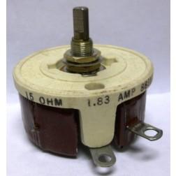 VR50-15  Resistor,  Variable, Rheostat, 15 ohm 50 Watt, (RP152FD150KK) 5905009020033, McGUIRE Products