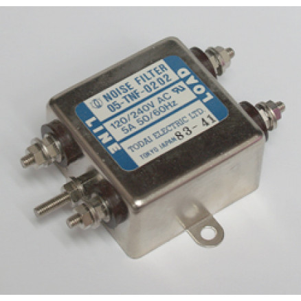 05-TNF-0202  Noise Filter, 5amp 120/240vac, Todai elec