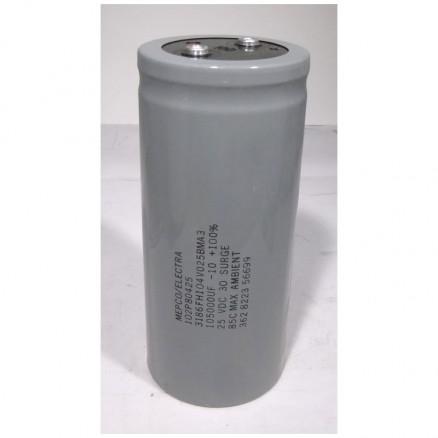 102P80425 Capacitor, electrolytic, 105,000 uf/ 25vdc Computer Grade   Mepco