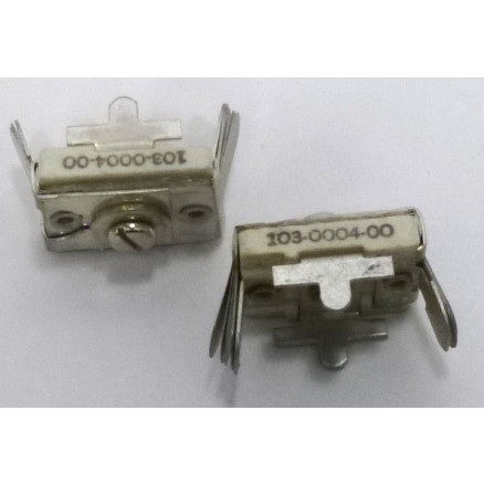 103-0004-00  Trimmer Capacitor, compression mica,  215-790pf, PC Mount