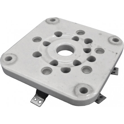 122-275-100 Heavy duty industrial gradesteatite insulated wafer type socket., Johnson