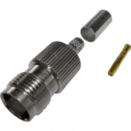122373  TNC Female Crimp Connector, Cable Group C1,  Amphenol