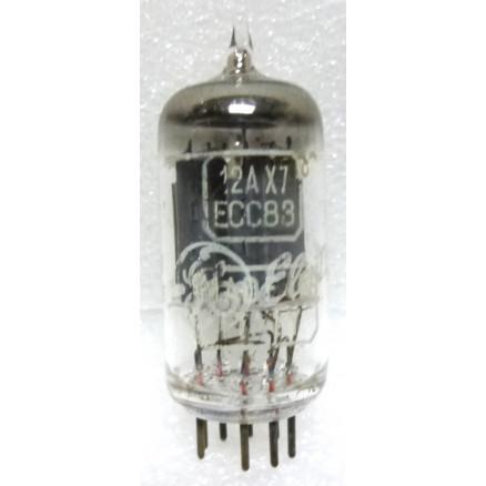 12AX7-USA  Tube - Audio, High Mu Twin Triode, ECC83,  US Brands