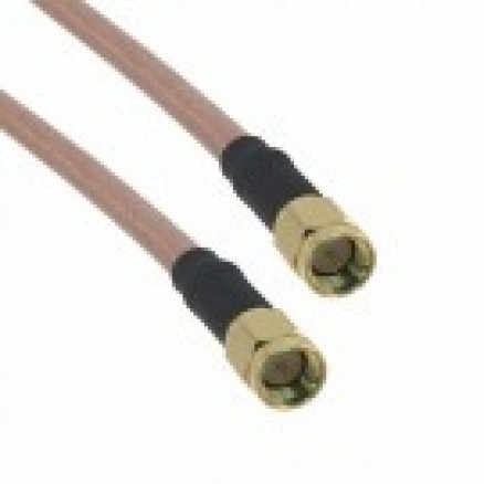 135101-07-24  Cable Assembly, 24 inch, RG142 w/SMA male to SMA male, Amphenol