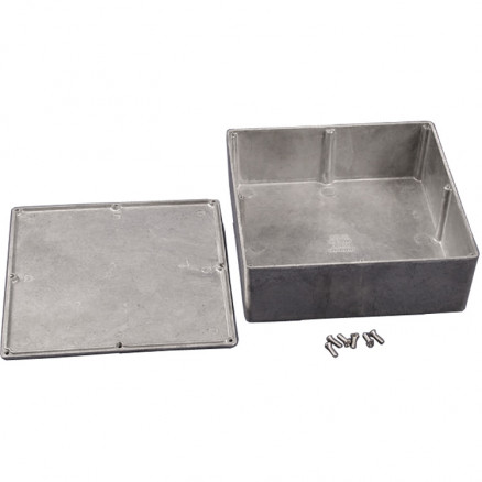 BOX1590F  Diecast Box Enclosure, Hammond