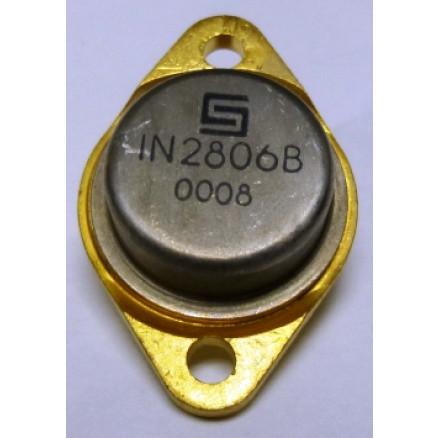 1N2806B  Diode, Zener 50 Watt 8.2v  TO-3 Case, Motorola
