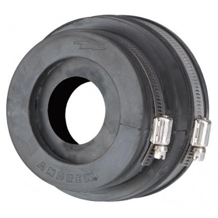 204679A-2  Boot Assembly, 4 in, for 7/8 in corrugated coaxial cable Dimensions Nominal Size 7/8 in Height 101.60, Andrew