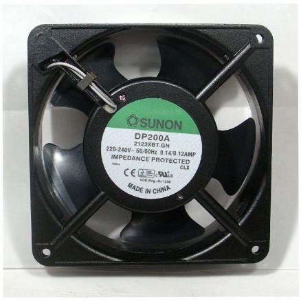 2123XBT DP200A Series Fan motor,  220 vac 140 ma 97 cfm,  Sunon (Rohs)